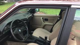 1986 BMW e30 325e M62B44NV swap walk around.