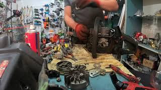 ремонт Бензопилы Р 350 Замена сальников подшипников РемПрост