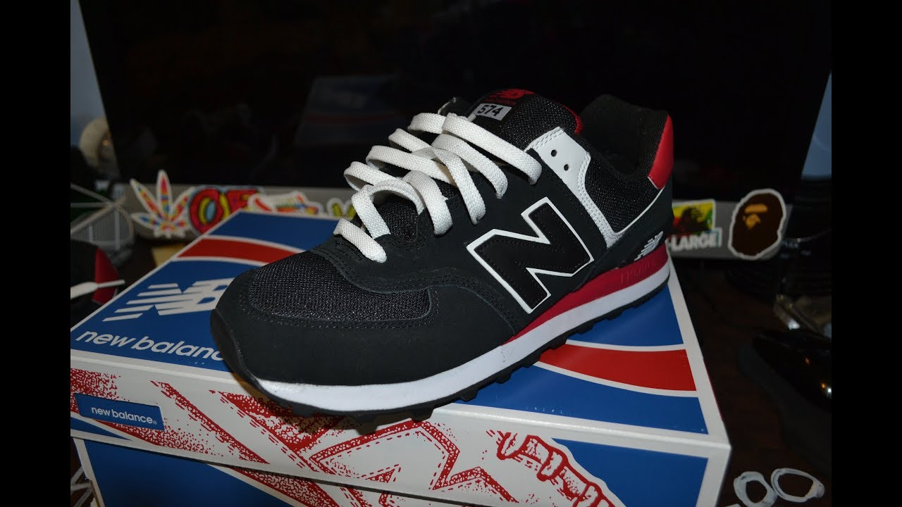 low priced 7052a 1d336 Best way to tie New Balance 574!