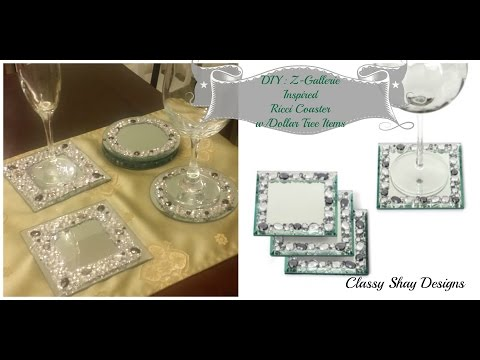 DIY: Z Gallerie Inspired Ricci Coasters Dupe
