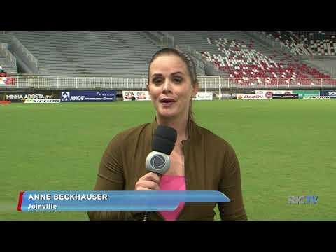 JEC vence Figueirense na arena, mas partida acaba em confusão entre torcidas