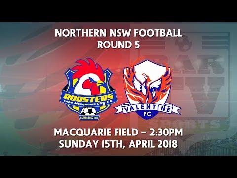 2018 NNSWF NPL Round 5 - Lake Macquarie City FC v Valentine Phoenix FC
