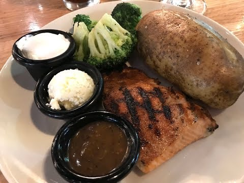 What I Ate On Weight Watchers Freestyle | Fri-yay Night Out | Applebee's 6 SP Salmon & Baked Potato