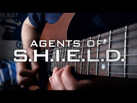 Agents of SHIELD Theme on Guitar