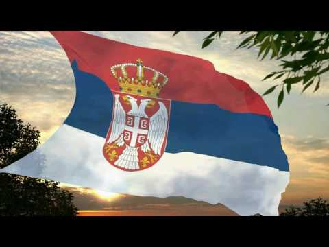 Flag and anthem of Serbia