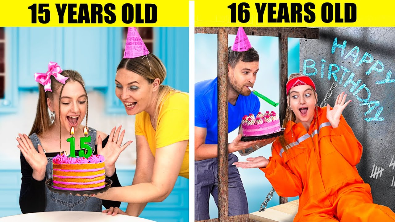 If My Sweet 16 Was in Prison / 14 Funny and Awkward Moments in Prison
