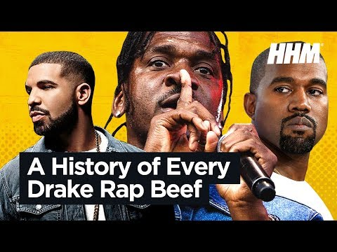A History of Every Drake Rap Beef