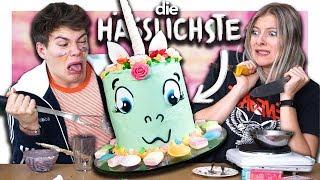 ICH RETTE JOEY'S HÄSSLICHSTE EINHORN TORTE | Wie Schmeckt's?