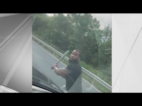 Man Smashes Windshield in Terrifying Road Rage Incident | NBC New York