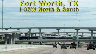 I-35W Downtown: Fort Worth Texas