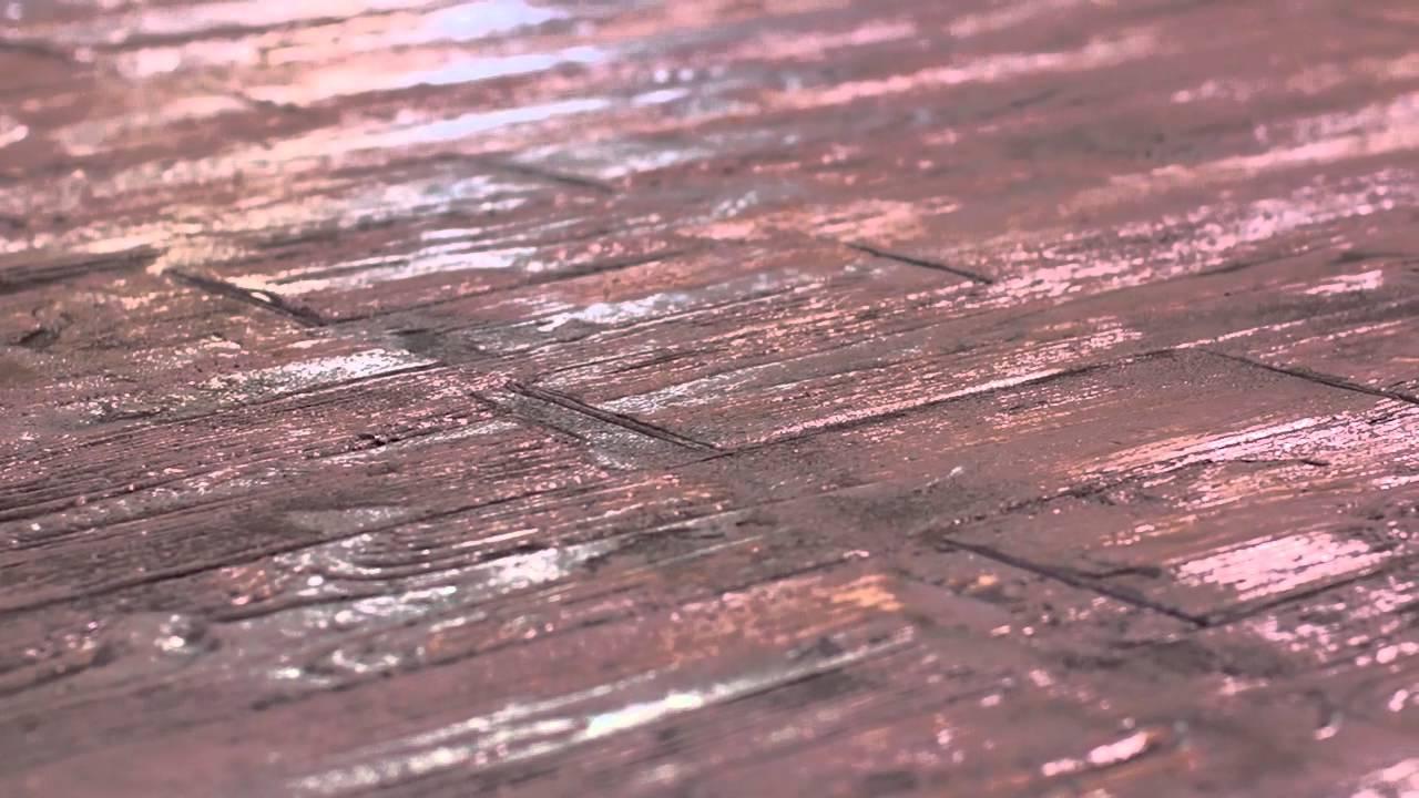 H&C Decorative Concrete Coatings - Faux Plank Floor ...