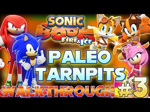 ABM: Sonic Boom Fire & Ice *Paleo Tarpits* Walkthrough 3 HD