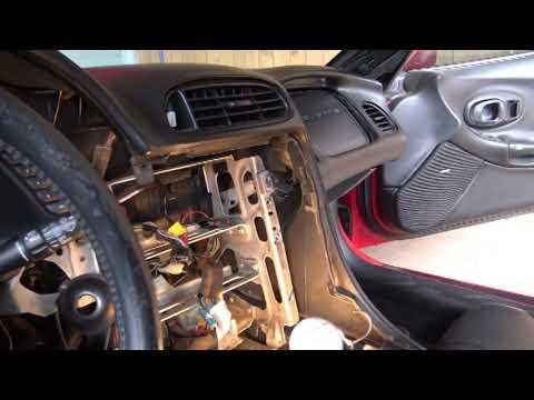 2000 C5 Corvette Dash And Full HVAC Replacement