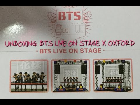 UNBOXING | BTS X OXFORD BTS LIVE ON STAGE