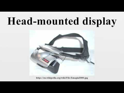 Head-mounted display