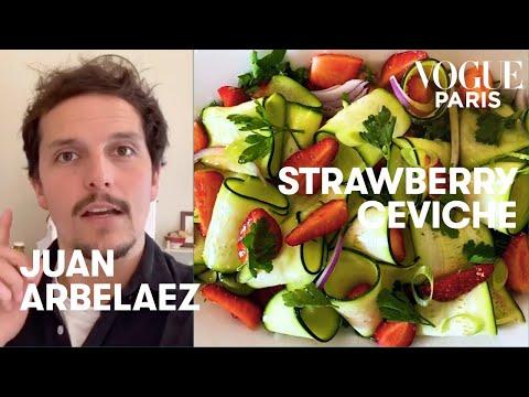 seasonal-recipe:-juan-arbelaez's-strawberry-and-courgette-ceviche-i-vogue-paris