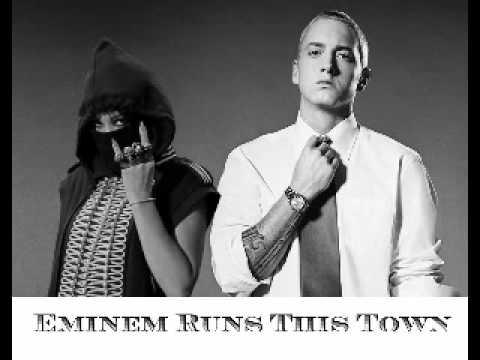 Run This Town- Eminem Remix (Mashup)