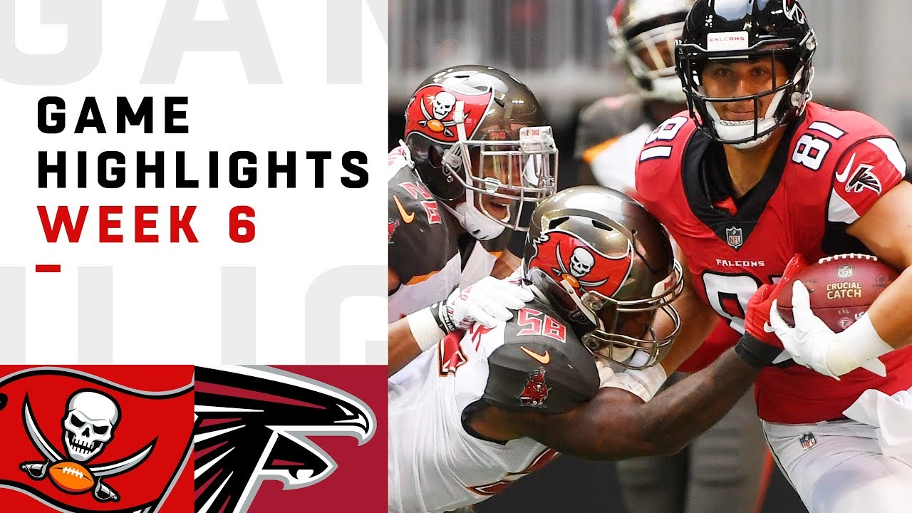 9e6c62c5 Buccaneers vs. Falcons Week 6 Highlights | NFL 2018