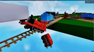 Thomas and Friends Thomas' NEW Downhill Ride! With James, Percy Gordon Roblox