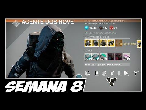 DESTINY: Xúr Agente dos Nove - Localização e itens - Semana 8 - 31/10