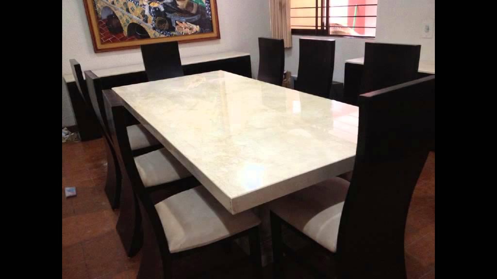 Cubierta cocina granito y marmol youtube for Barras de granito para cocina