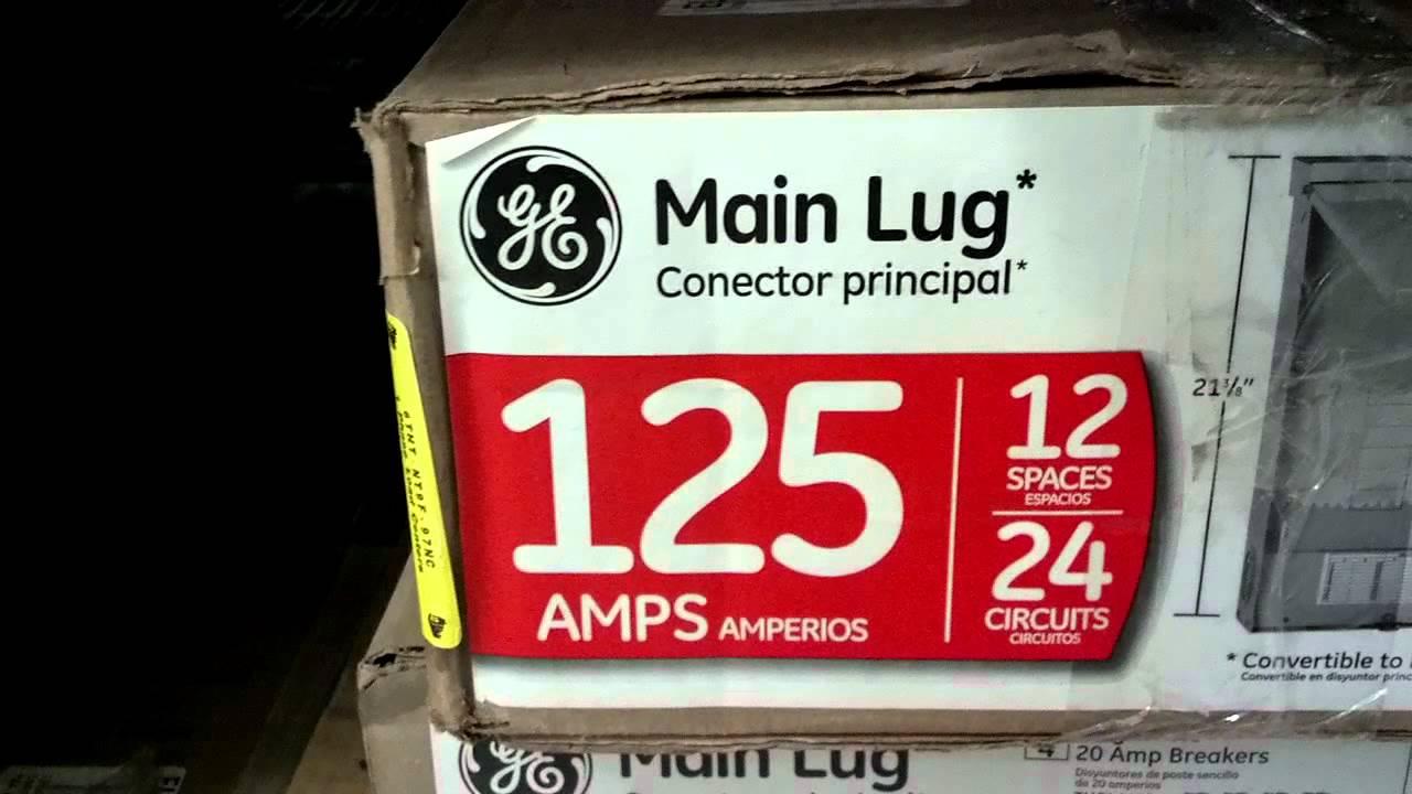 medium resolution of two electric guys main lug panel