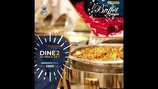 BDT 2999 NET ON WEEKDAYS   Buffet Dinner at DHAKA REGENCY