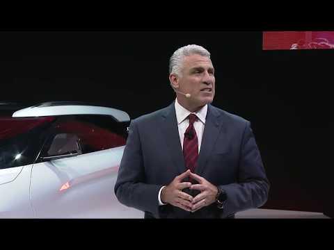 Mitsubishi Press Event from the LA Auto Show