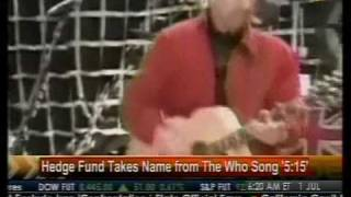Hedge Funds Takes Name From The Who Song '5:15' - Bloomberg