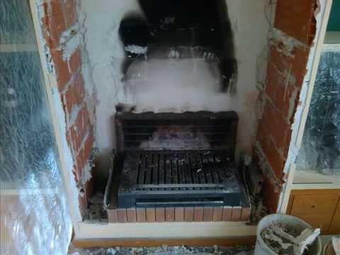 Adios a mi chimenea de le a doovi - Como instalar una chimenea de lena ...