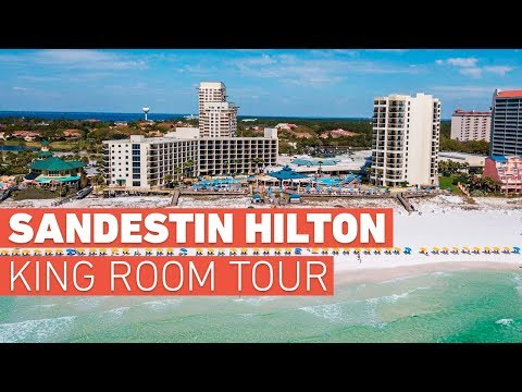 Sandestin Hilton - Beach-View King Room Tour & Review (2019)