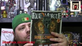Unboxing 2nd Rue Morgue Coffin Box July August 2018