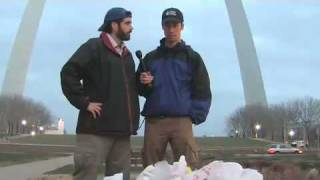 Bag Monster: Plastic bags pollute Saint Louis, MO Thumbnail