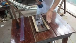 Cách phay bằng mặt gỗ