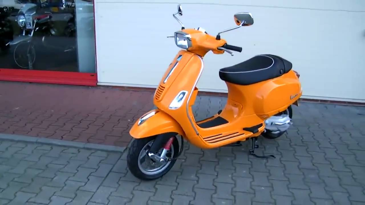 vespa 50 orange