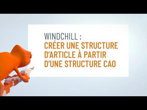 Réaliser une structure d'article à partir d'une structure CAO
