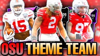 ALL TIME OHIO STATE BUCKEYES THEME TEAM ‼️‼️‼️ MADDEN 20 OHIO STATE THEME TEAM