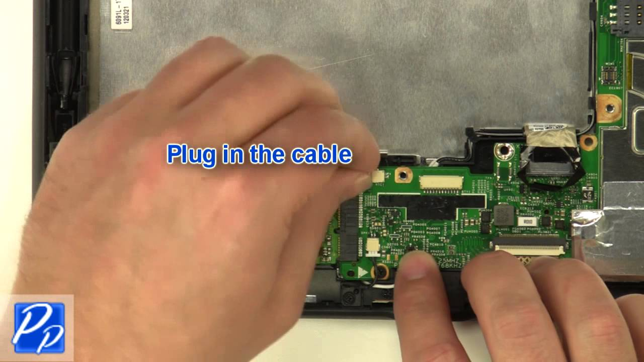 Dell Latitude ST Tablet CMOS Battery Replacement Video Tutorial Teardown