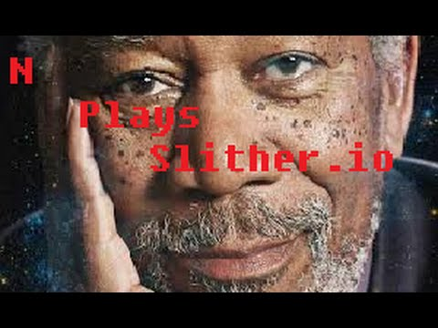 I AM MORGAN FREEMAN Slither.io (Best Ending Ever!)
