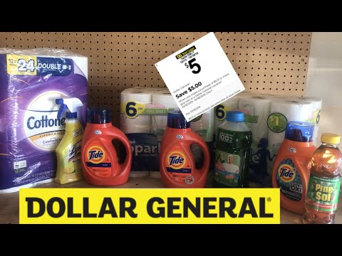 Spend $5.01 Save $5 At Dollar General 10-14
