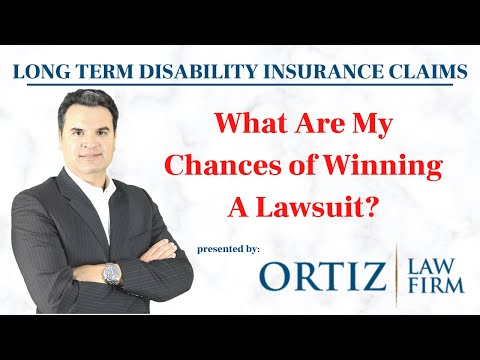 What Are My Chances of Winning A Lawsuit in an LTD Claim?