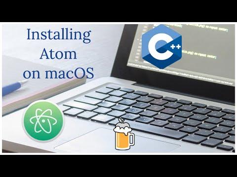 Installing Atom to