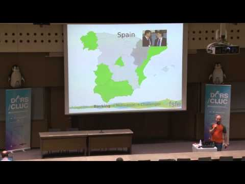 Free software in education – A glance at Europe - Guido Arnold, FSFE DORS/CLUC 2015
