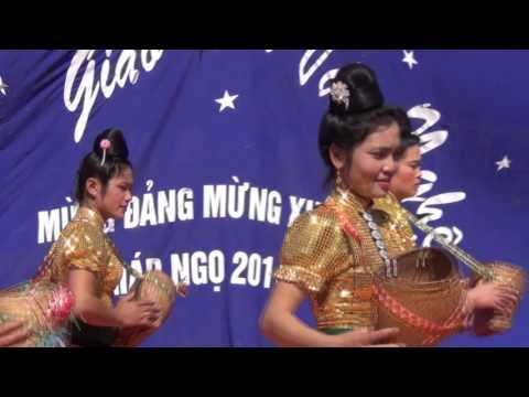 Múa Hái Bông - dân tộc Thái Sơn La