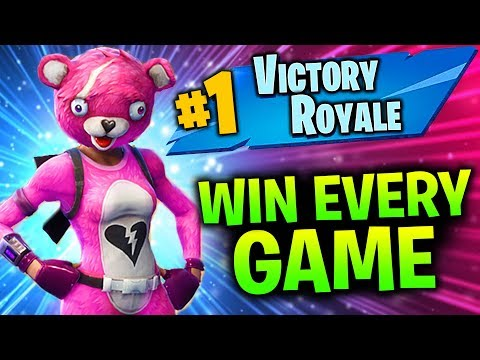 HOW TO WIN ALL GAMES IN FORTNITE SEASON 5 (PRO TIPS AND TRICKS TO WIN SOLO, DUOS AND SQUADS GAME)