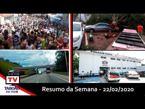 Resumo da Semana - #22deFevereiro2020