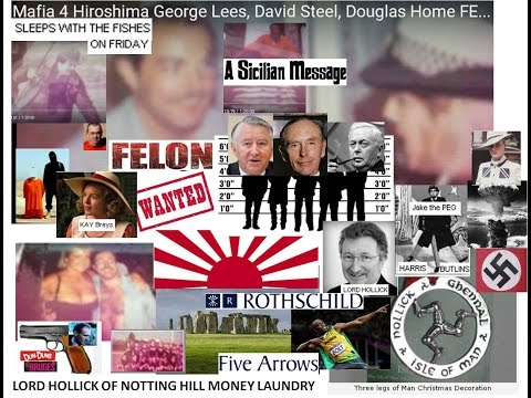 Global Mafia 4 Hiroshima George Lees, David Steel, Douglas Home FELONS BP Time Team Xmas tree Rev Re