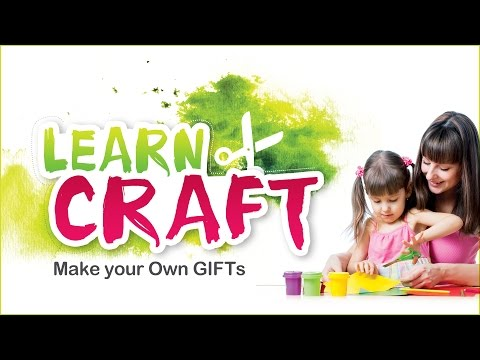 Learn Craft For Children | Craft Work With Waste Materials | Craft Ideas For Kids | Craft With Paper