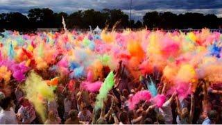 Самый весёлый праздник Холли) влог Color Fest