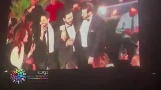 دوت مصر | ياسمين رئيس ترقص في زفاف كندة علوش وعمرو يوسف